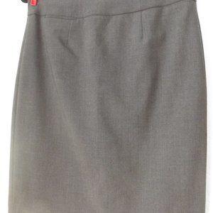 Calvin Klein Pencil Skirt Charcoal Gray Size 4P
